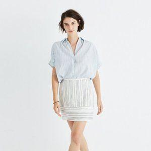 Madewell Gamine Mini Skirt in Stripe Play